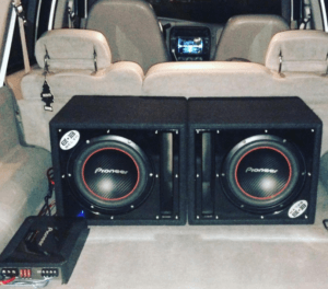 2 10in subs in the back will really boost your bass.