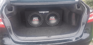 The MTX terminator car setup