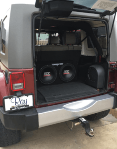 These MTX 12in Subwoofers Fit Perfectly in a Cars Trunk.